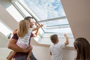 Insektenschutz Dachfenster Rollo